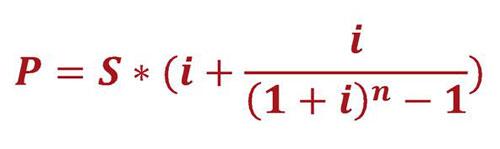 Изображение - Расчет аннуитетных платежей по кредиту формула, пример formula-annuitetnogo-platezha