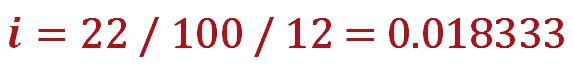 Изображение - Расчет аннуитетных платежей по кредиту формула, пример raschet-mesjachnoj-procentnoj-stavki